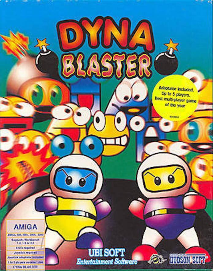 Alguns games da série Bomberman foram lançados na Europa com o nome Dynablaster (Foto: Reprodução/GameFaqs.com)