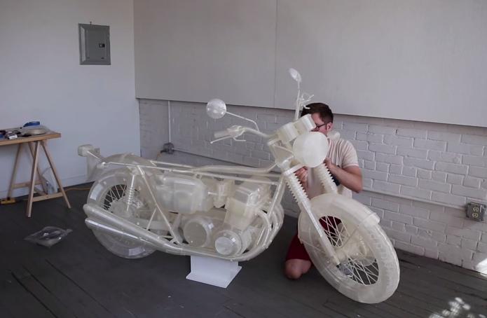 Honda CB500 1972 - Impressora 3D Moto