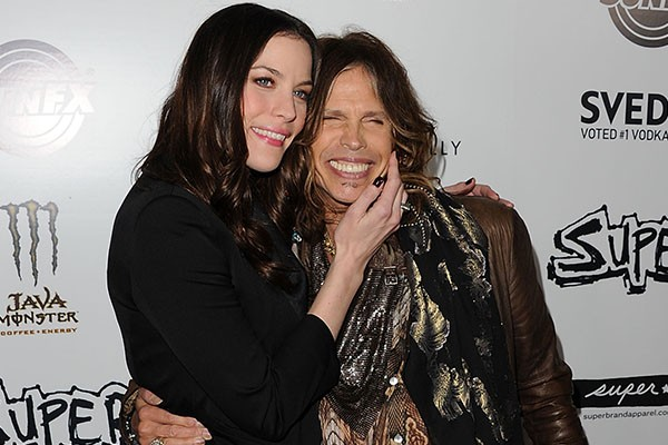 Liv Tyler e Steven Tyler (Foto: Getty Images)