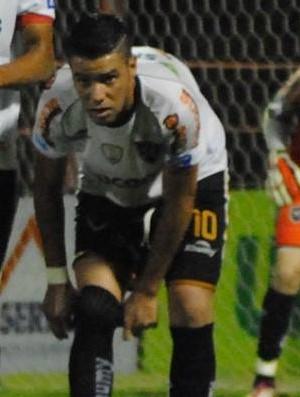 Meia Marcus Vinícius, do Estrela do Norte (Foto: Henrique Montovanelli/Desportiva Ferroviária)