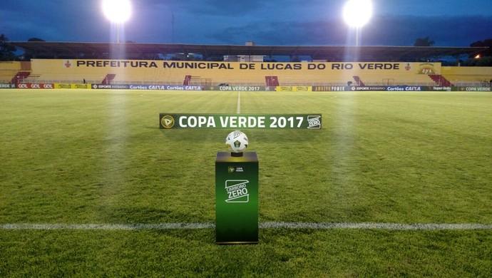 Passo das Emas, Copa Verde (Foto: Diogo Carvalho/FMF)