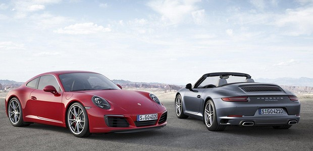 Porsche 911 Carrera 2016 (Foto: Porsche)