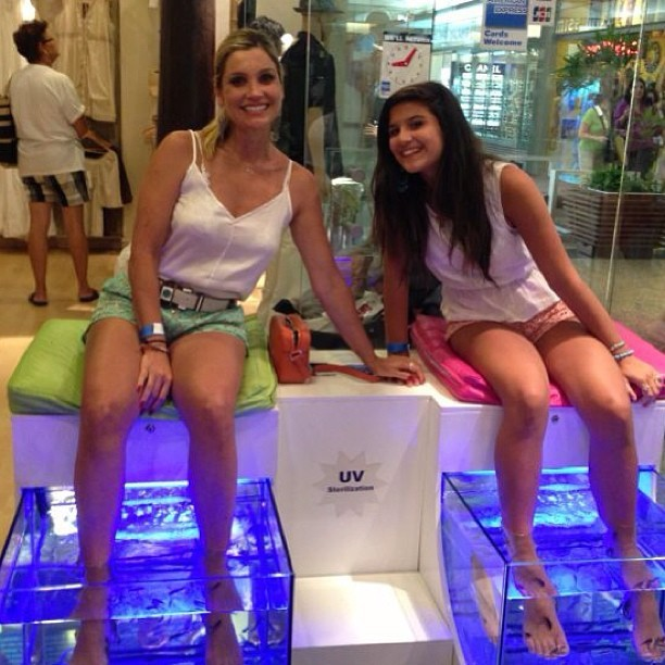 Flávia Alessandra e a filha (Foto  Reprodução Instagram) c2849c6a93
