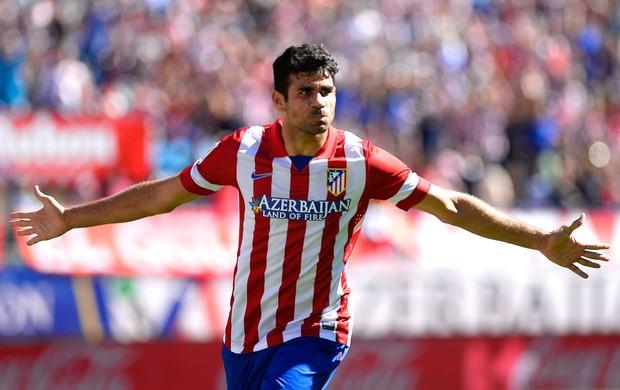 Diego Costa Atlético de Madrid e Celtic (Foto: Agência AFP)