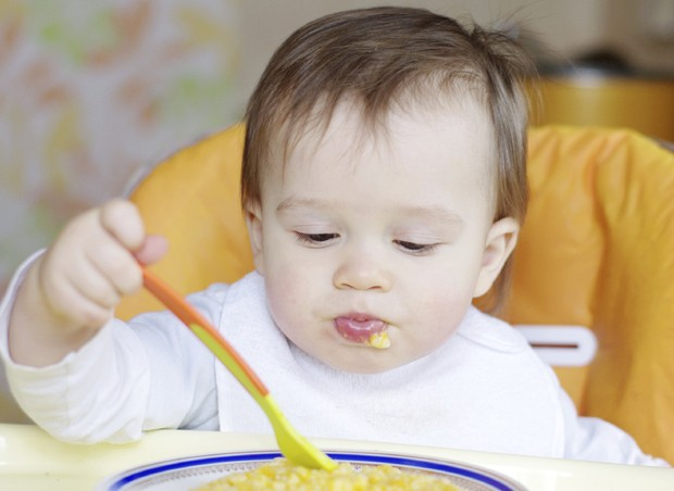 vegetais; papinha; alimentação; bebê (Foto: Thinkstock)