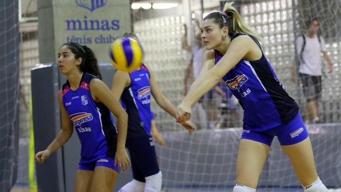 Rosamaria, oposta do Minas (Foto: Orlando Bento / Minas Tênis Clube)