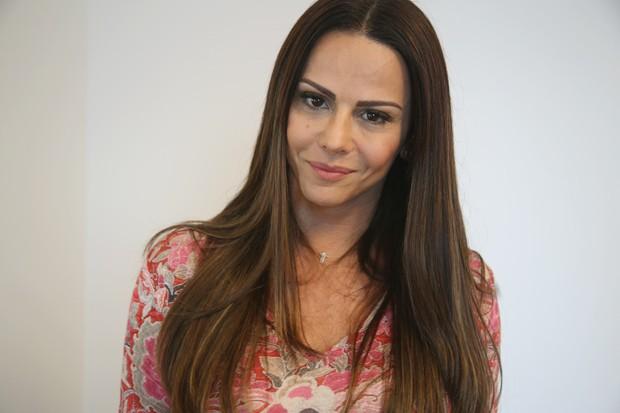 'Quero me dedicar cada vez mais  minha carreira de atriz', diz ela. (Foto: Carol Santos)