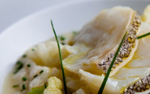 Arroz de bacalhau com couve-flor