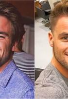 Ex-BBB Rafael Licks muda o visual. Compare o antes e depois