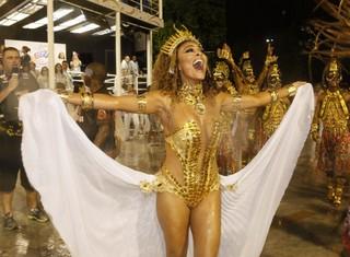 Juliana Paes na Viradouro (Foto: Marcos Serra Lima/ EGO)
