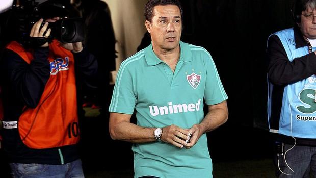Luxemburgo jogo Fluminense e Cruzeiro (Foto: Cezar Loureiro / Agência O Globo)