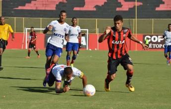 Bahia bate Vitória na 1ª partida da final do Campeonato Baiano Sub-20