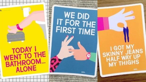 Cartões divertidos Mum's Milestones (Foto: Mum's Milestones)