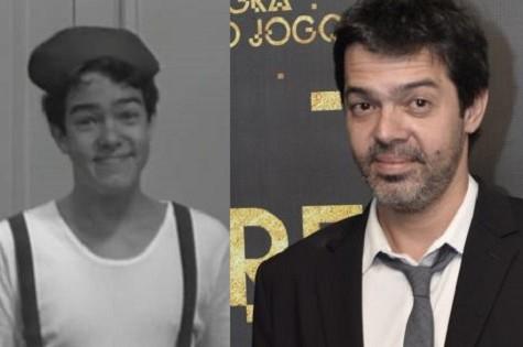 Bruno Mazzeo: em 1990 e hoje (Foto: Reprodução/ Divulgação)