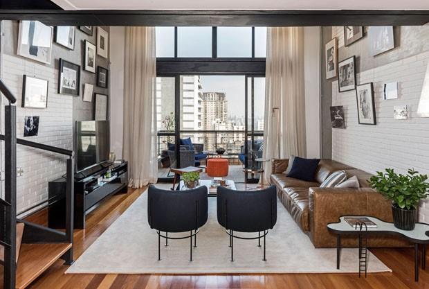 Loft paulistano tem estilo jovem e toque industrial casa for Estilo escandinavo industrial