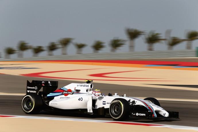 Felipe Nasr em ação no teste da Fórmula 1 no Bahrein (Foto: Getty Images)