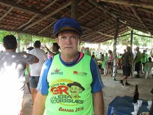 Organizador da festa, Manoelito Rodrigues, fala sobre criação de bloco (Foto: Gil Oliveira)