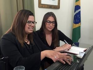 Dupla promete responsabilidade e inovação (Foto: Divulgação/ACS Santos)