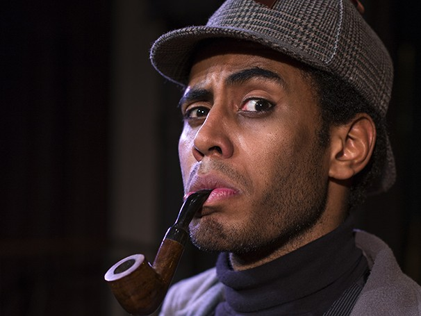 O ator interpretará Sherlock Holmes em 'Baker Street', que estreia em Janeiro (Foto: Divulgação)