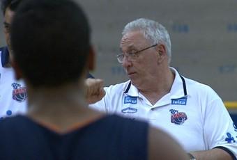 Lula Ferreira, técnico do Franca Basquete (Foto: Reprodução EPTV)