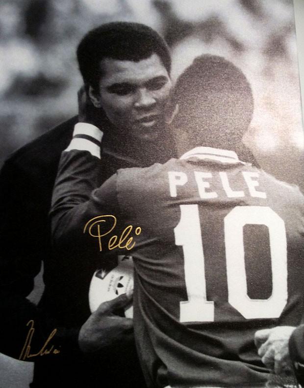 Pelé e Muhammad Ali (Foto: Divulgação)