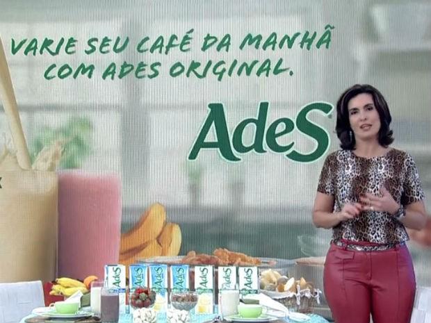 Fátima dá dicas de incluir a soja na sua alimentação (Foto: Divulgação/TV Globo)