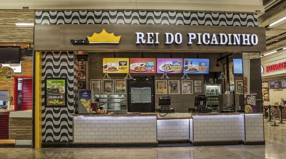 Unidade do Rei do Picadinho em São Paulo (Foto: Divulgação)