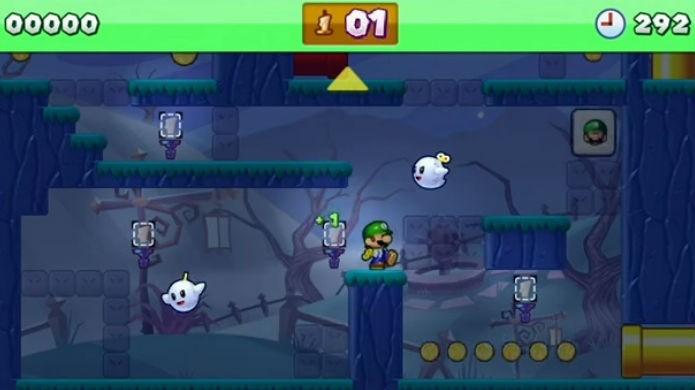 Mini Mario & Friends amiibo Challenge conta com fases temáticas (Foto: Reprodução/Thomas Schulze)