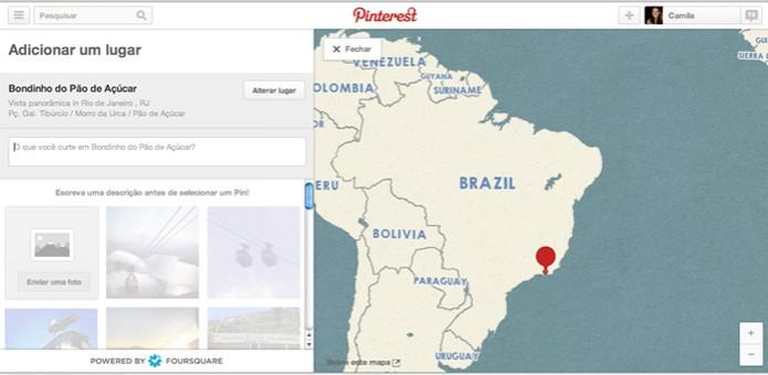 Adicione um comentário sobre o lugar escolhido (Foto: Reprodução/ Pinterest) (Foto: Adicione um comentário sobre o lugar escolhido (Foto: Reprodução/ Pinterest))