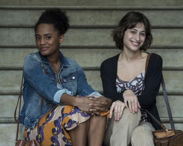 Luisa Arraes e Jéssica Ellen (Foto: Divulgação TV Globo)