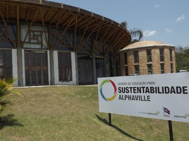Centro de Educação para a Sustentabilidade, em Santana do Parnaíba (Foto: Divulgação)