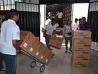 Urnas eletrônicas começam a ser distribuídas em Sergipe