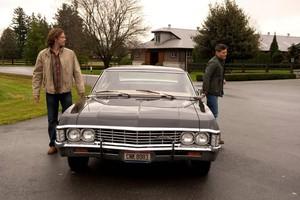 Chevrolet-Impala-na-série-Supernatural (Foto: Divulgação)