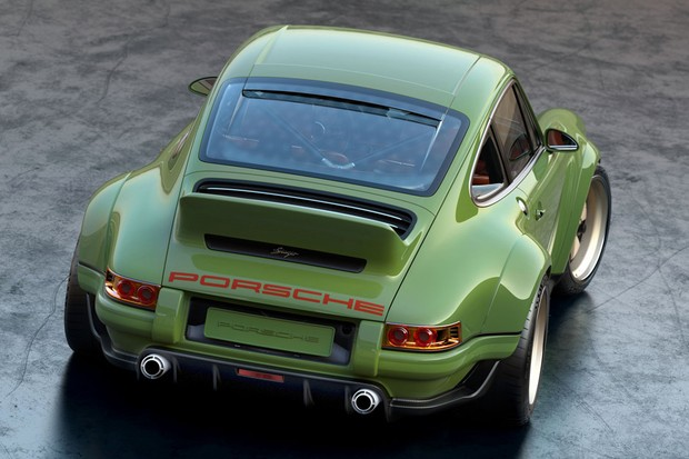 O aerofólio estilo cauda de pato vem dos antigos 911 RS dos anos 70 (Foto: Divulgação)