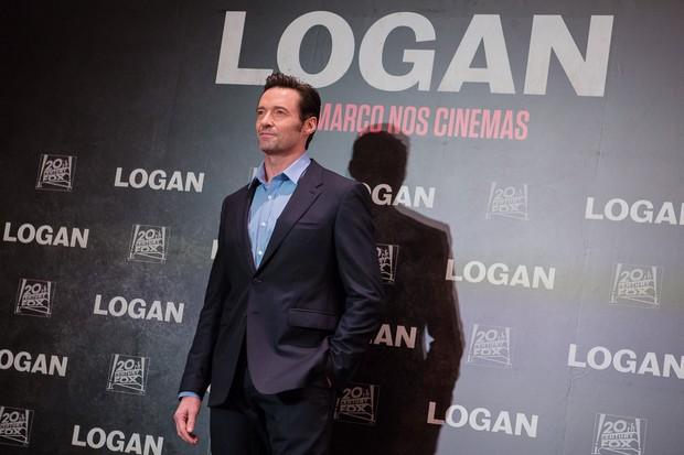 Hugh Jackman na coletiva de imprensa para divulgar o filme Logan (Foto: Mauricio Santana / Divulgação / Agência Febre)