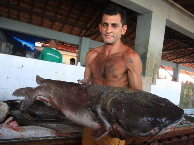 Gurijuba é o pescado favorito dos moradores de Vigia. pescado (Foto: Igor Mota/ Jornal Amazônia)