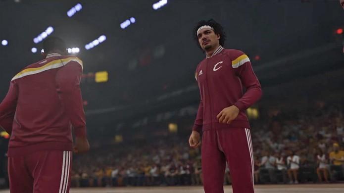 Varejão em NBA 2K15 (Foto: Divulgação)