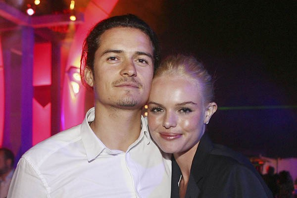 Orlando Bloom e Kate Bosworth (Foto: Getty Images)
