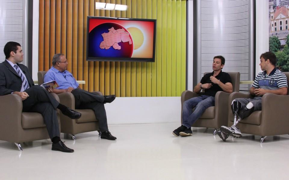 """Especialista em saúde, Márcio Attala fala de """"Qualidade de Vida"""", em Manaus (Foto: Caio Pimenta/G1 AM)"""