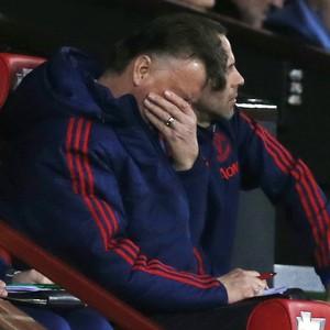 Van Gaal Manchester United x Southampton (Foto: Reuters)