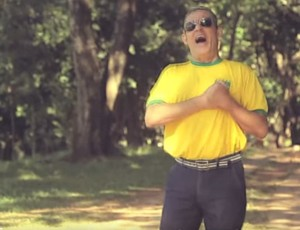 Ramiro Neto oftalmologista Uberaba música samba Seleção Brasileira (Foto: Reprodução/ Youtube)