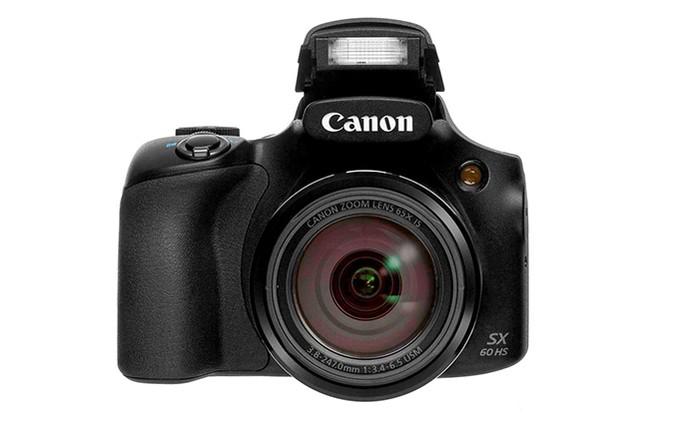 Câmera Digital Canon SX60HS tem zoom óptico de 65x e Wi-Fi (Foto: Divulgação/Canon)