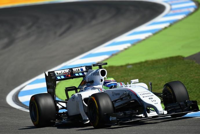 Felipe Massa nos treinos livres para o GP da Alemanha (Foto: Getty Images)
