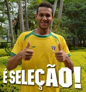 Souza São Paulo (Foto: divulgação / São Paulo)