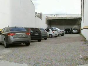 Estacionamentos privados devem dar crédito de horas para usuários  (Foto: Reprodução/TV Tem)
