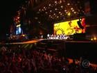 Elton John e Rod Stewart encerram 3º dia do RiR em noite cheia de afeto