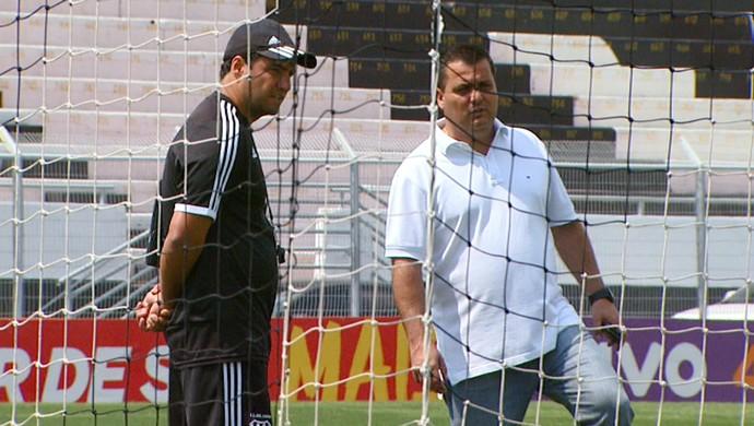 Felipe Moreira e Gustavo Bueno, Ponte Preta (Foto: Reprodução EPTV)