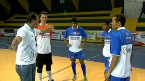 Elenco Bebedouro futsal (Foto: Reprodução/ EPTV)