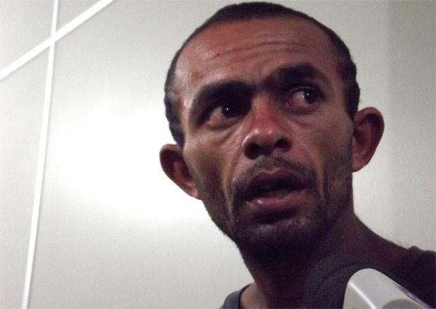 Gleydson Clementino da Silva, o 'Novinho' (Foto: Rafael Barbosa/G1)
