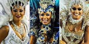 Portela, Beija-Flor e Unidos da Tijuca são destaques na 2ª noite (Alexandre Durão/G1)
